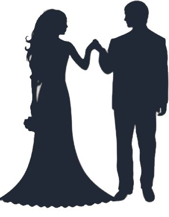 Free bride and groom. Bridal clipart transparent background