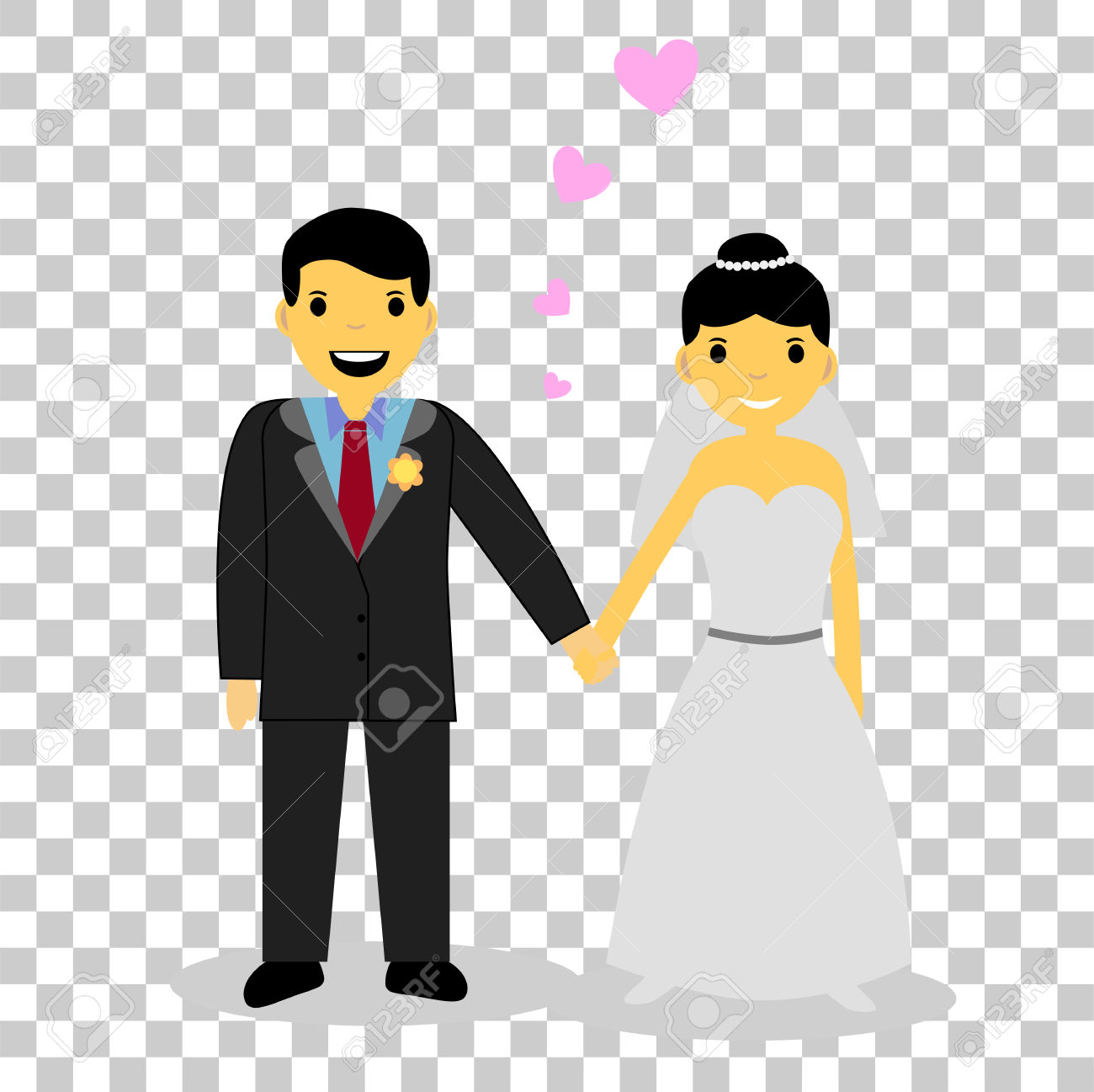 Bridal clipart transparent background.  collection of couple