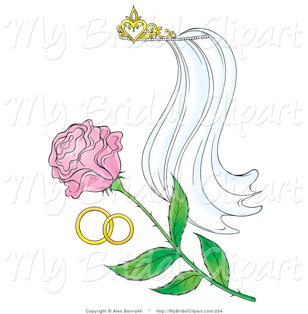 Bridal clipart wedding band. Of a collection tiara