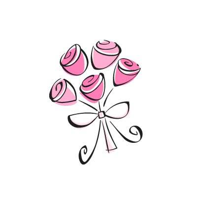 Bouquet clipart bridal bouquet. Bride wedding flower pencil