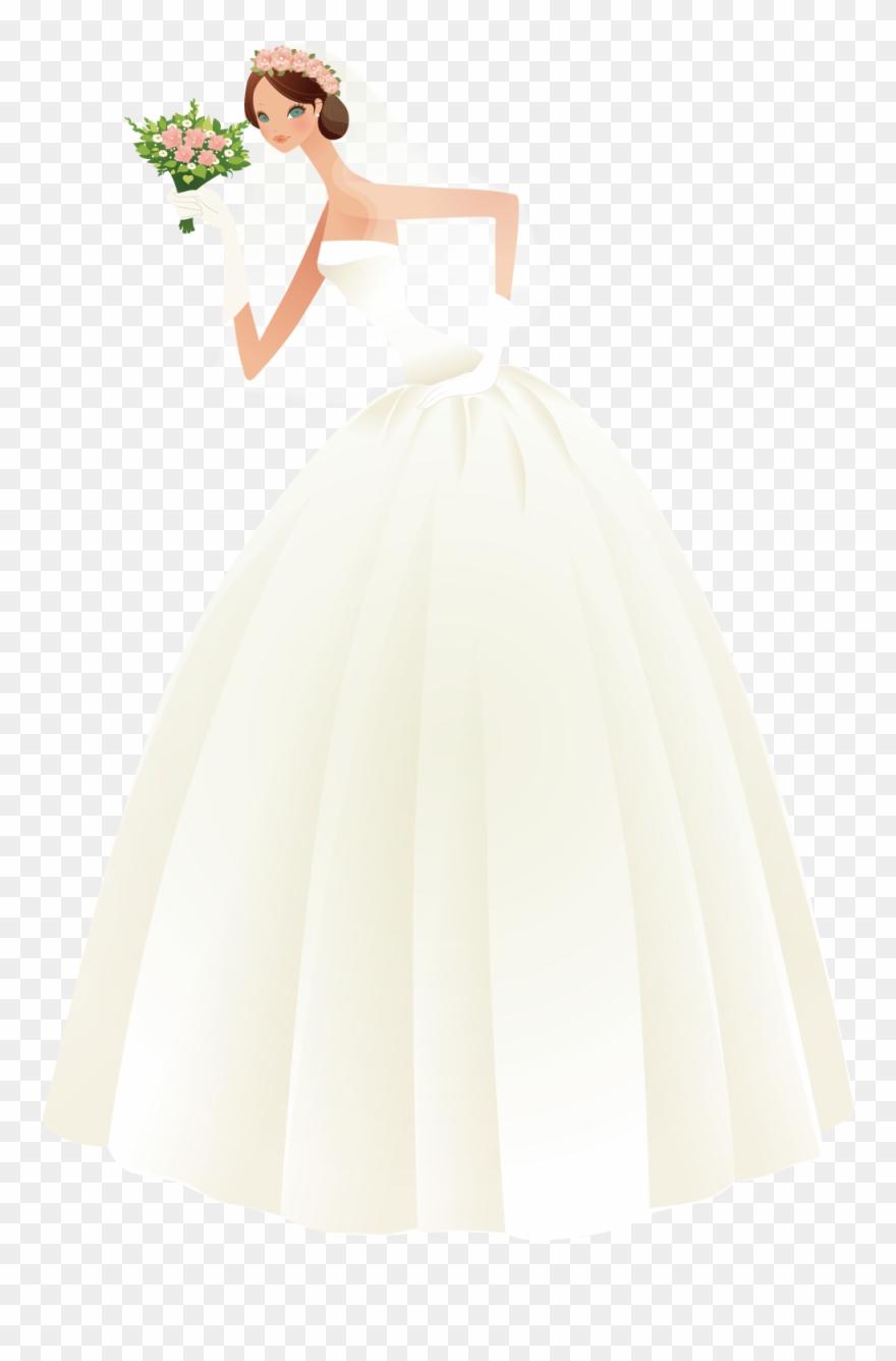 Bride png pinclipart . Bridal clipart wedding dress