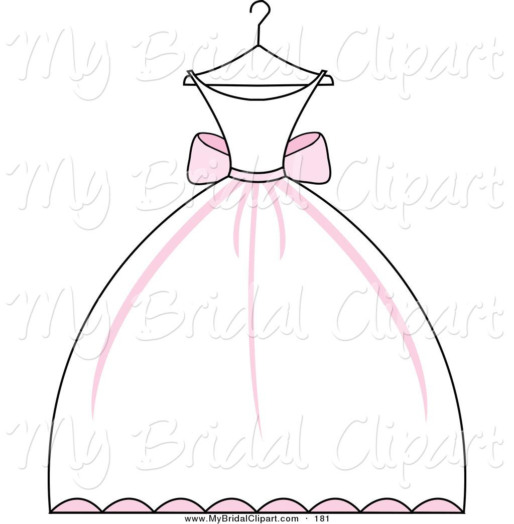 Clip art . Bridal clipart wedding dress
