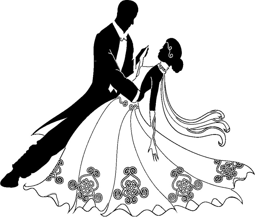 Bride clipart line drawing.  free wedding cliparting