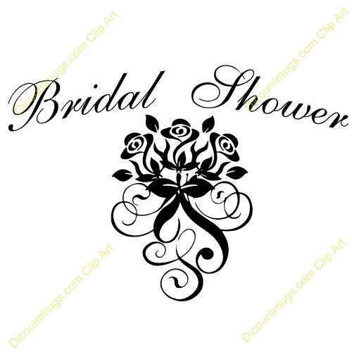 Bride clipart bride word. Bridal shower clip art