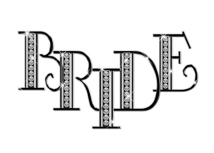 Bride clipart bride word. Diamond art greeting card