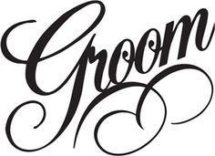 Groom words vector google. Bride clipart bride word