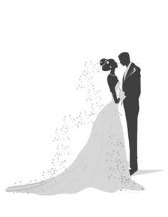 Groom stock illustrations clip. Bride clipart bridegroom