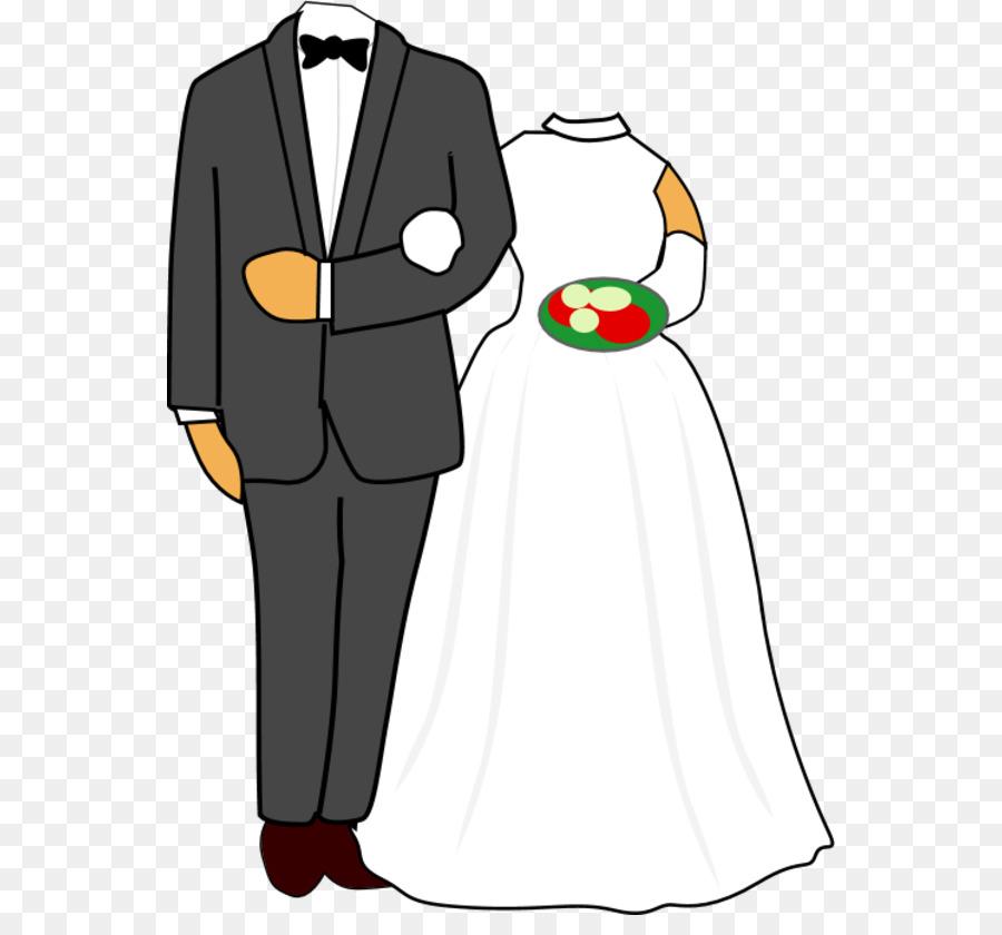 Wedding invitation clip art. Bride clipart bridegroom