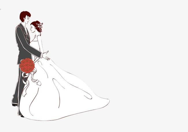 Bride clipart bridegroom. And groom cartoon wedding