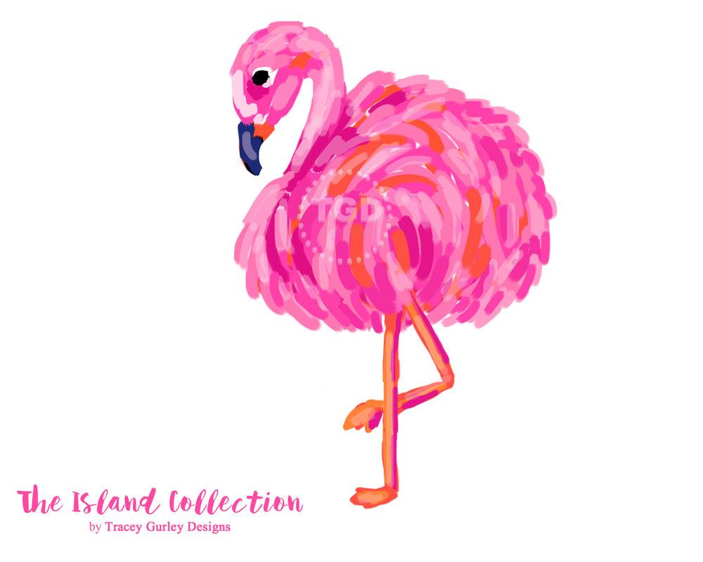 Bride clipart flamingo. Preppy clip art pink