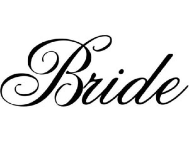Bride clipart font. Free on dumielauxepices net