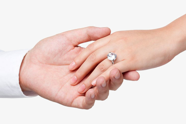 Bride clipart hands. The and groom hand