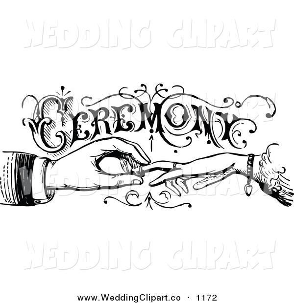 Bride clipart hands. Vintage bridal