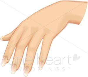 Bride clipart hands. Hand