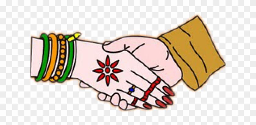 Hindu wedding hand png. Bride clipart hands