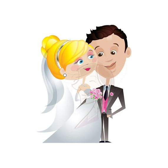 Bride clipart husband. Wedding clip art and