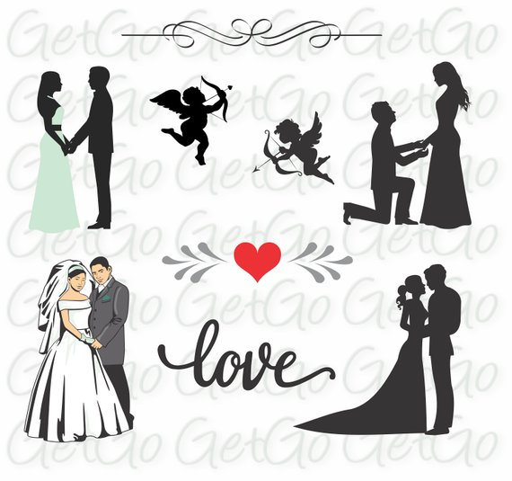 Groom clipart icon. Wedding icons and bride