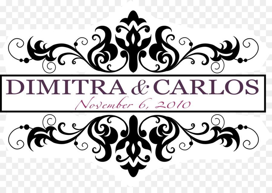 Wedding invitation design black. Bride clipart logo