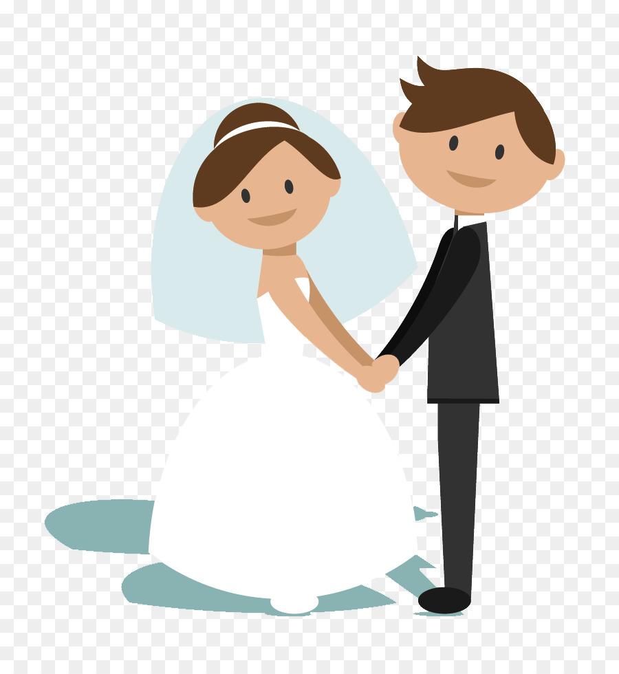 Bride clipart married. And groom cartoon wedding