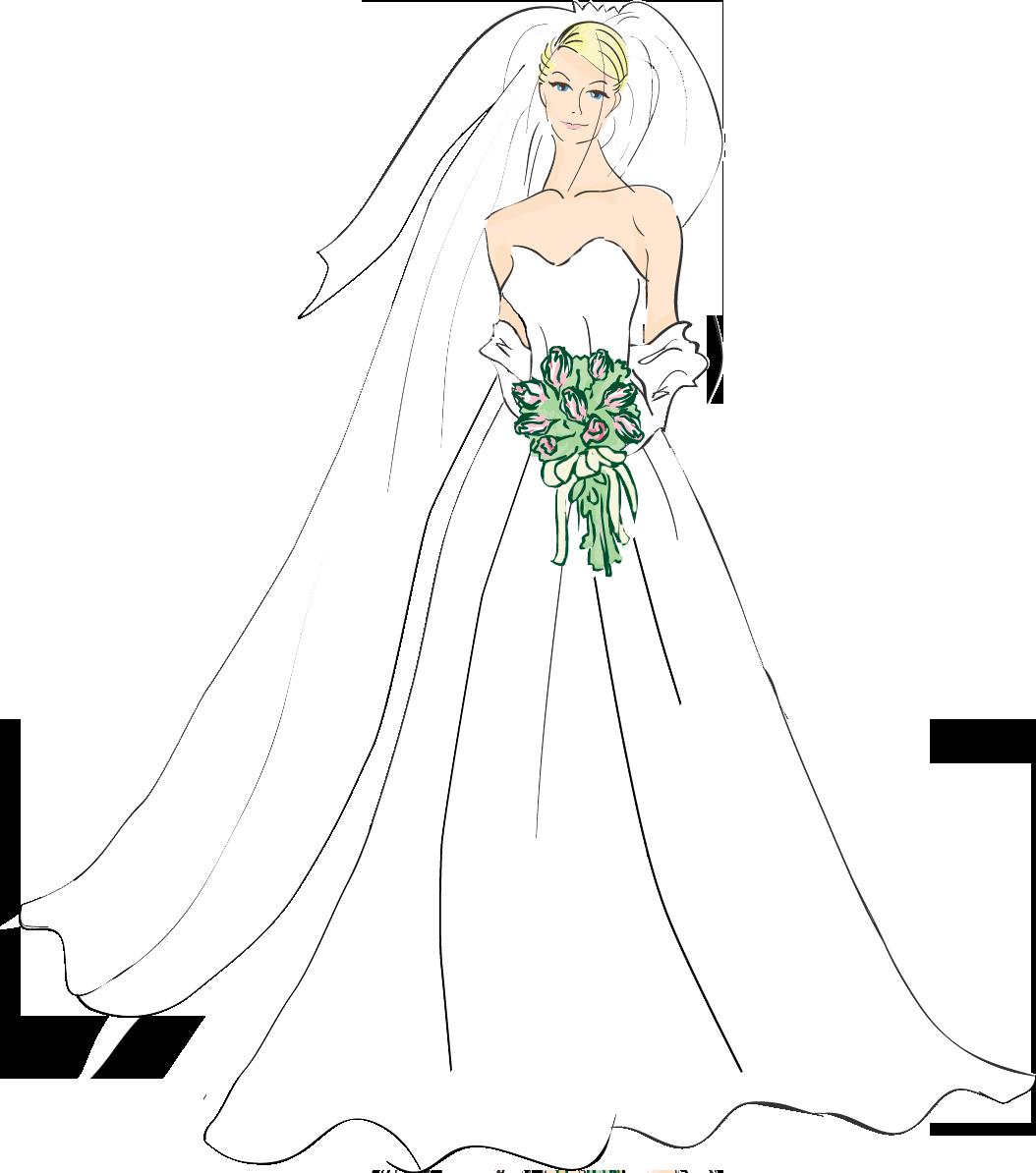 Fashion clipart wedding dress. Http tqn com d