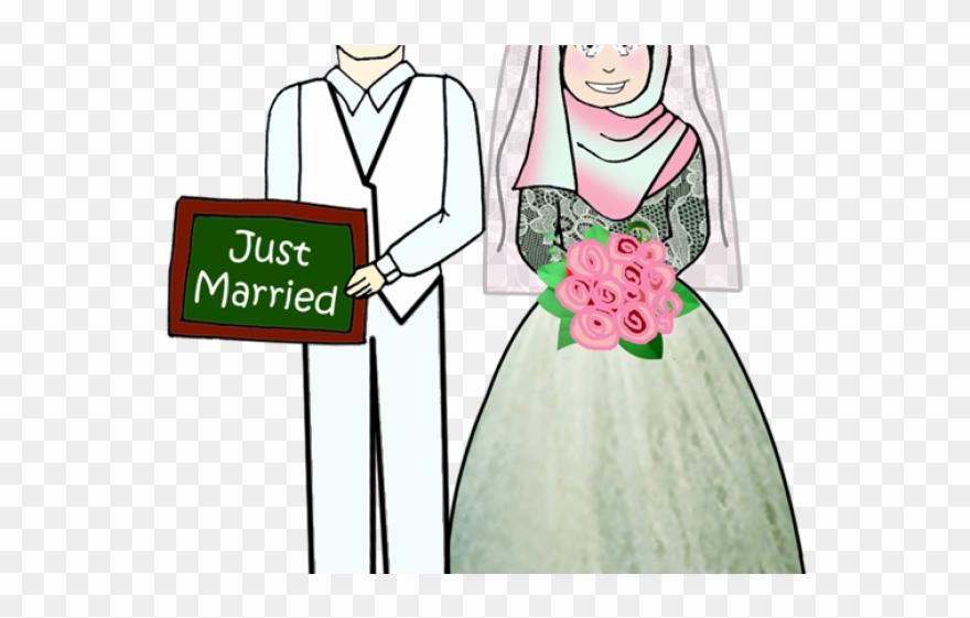 Wedding muslim png . Marriage clipart sad
