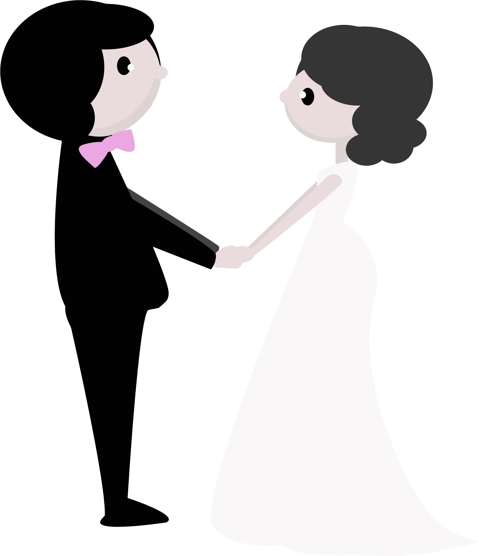 collection of transparent. Girls clipart wedding