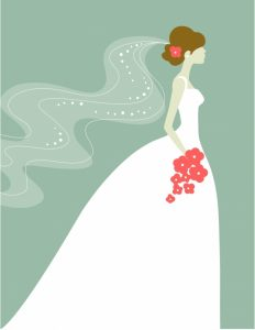 Bride clipart walk down aisle. Walking the becoming more