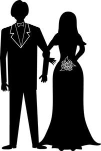 Bride clipart walk down aisle. Free wedding image computer
