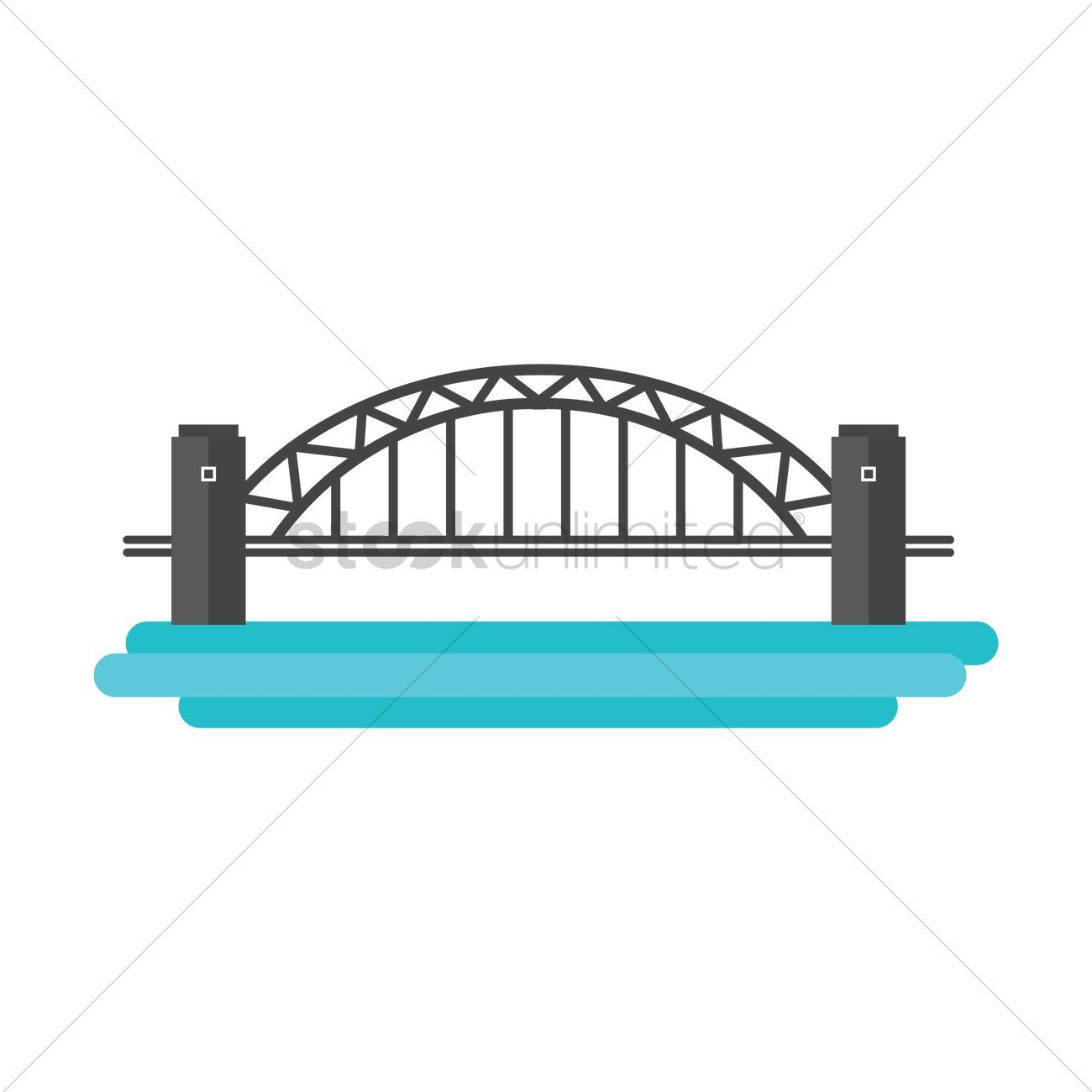 Sydney harbour portal . Bridge clipart