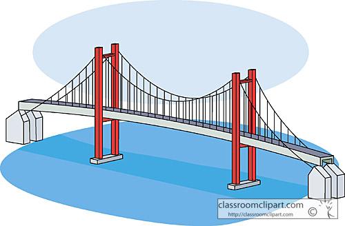 Bridges clip art free. Bridge clipart