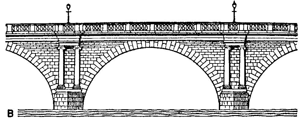 Cliparts for you clipartix. Bridge clipart black and white