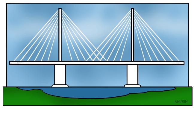 Bridge cable stayed bridge