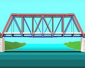 Bridge clipart cantilever bridge. Free truss