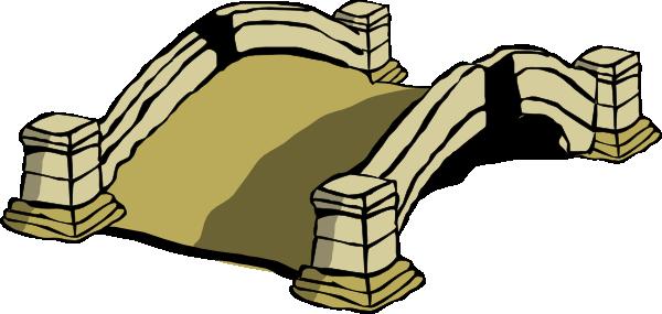 bridge clipart cartoon