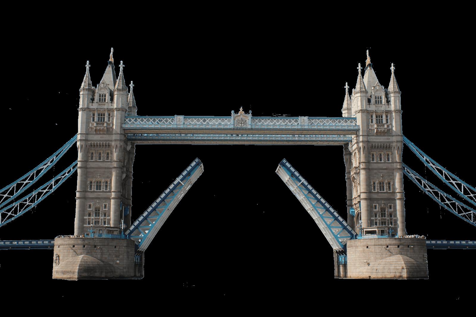 London bridge silhouette transparent. Tower clipart project