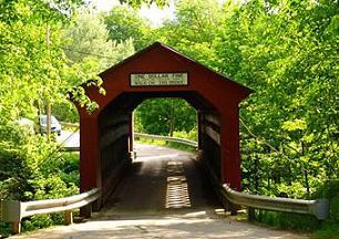 Bridge clipart covered bridge. Free bridges pictures and