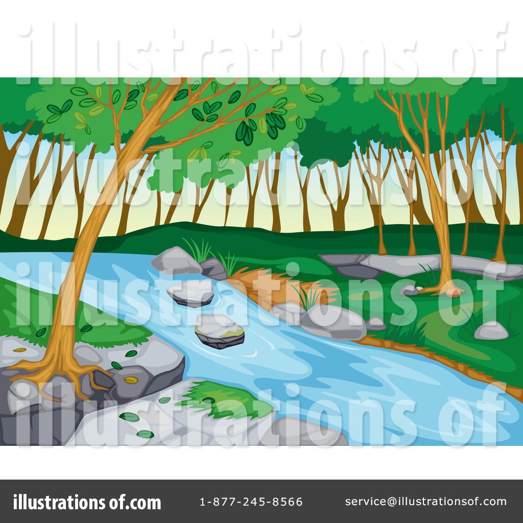 Bridge clipart creek. Illustration by graphics rf