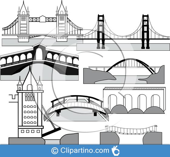 Images clipartino cliparts svg. Bridge clipart cut out