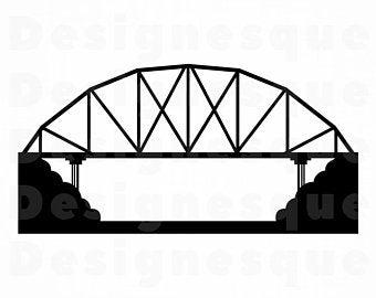Svg etsy . Bridge clipart cut out