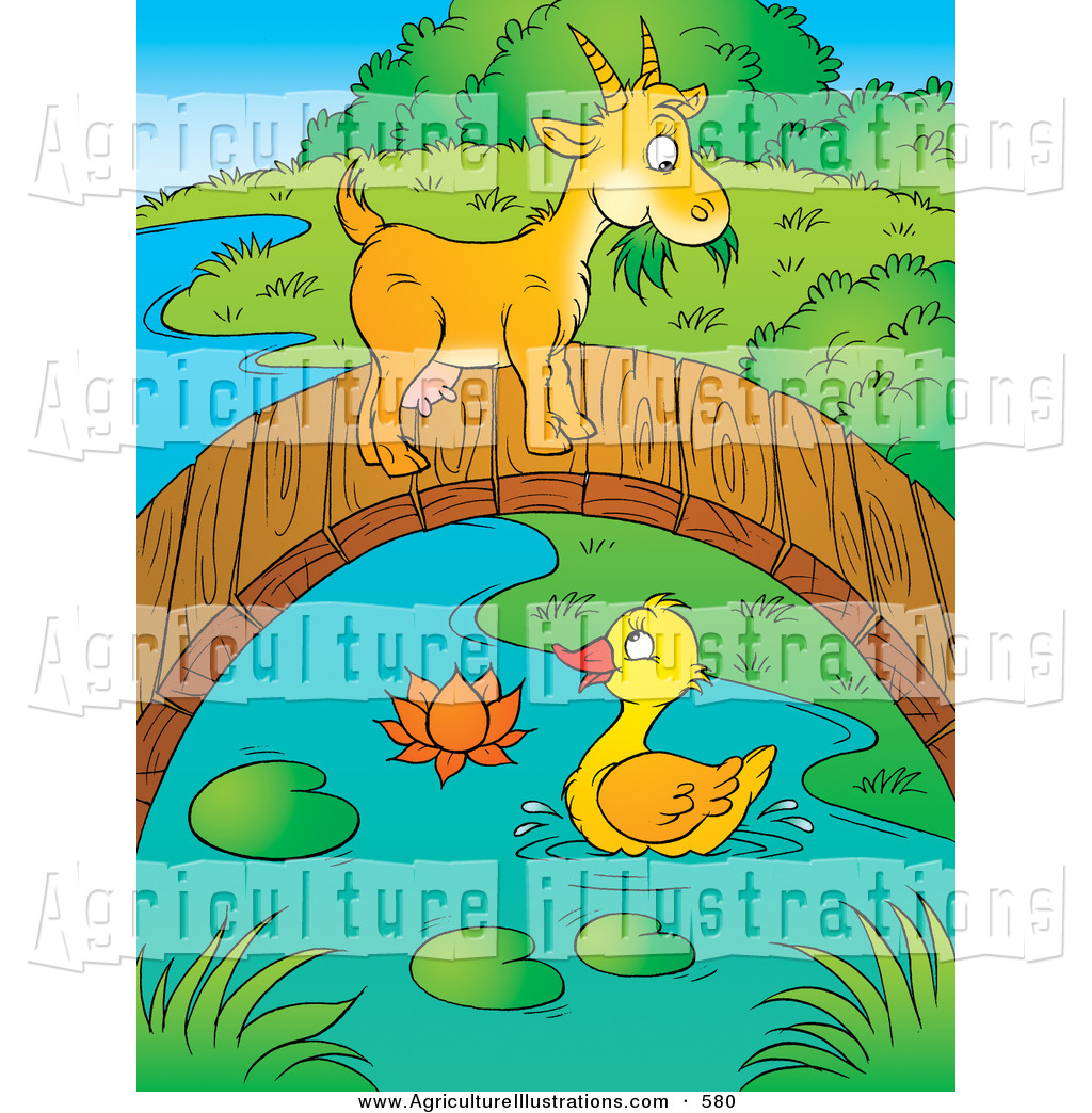 Bridge clipart cute. Agriculture of a yellow