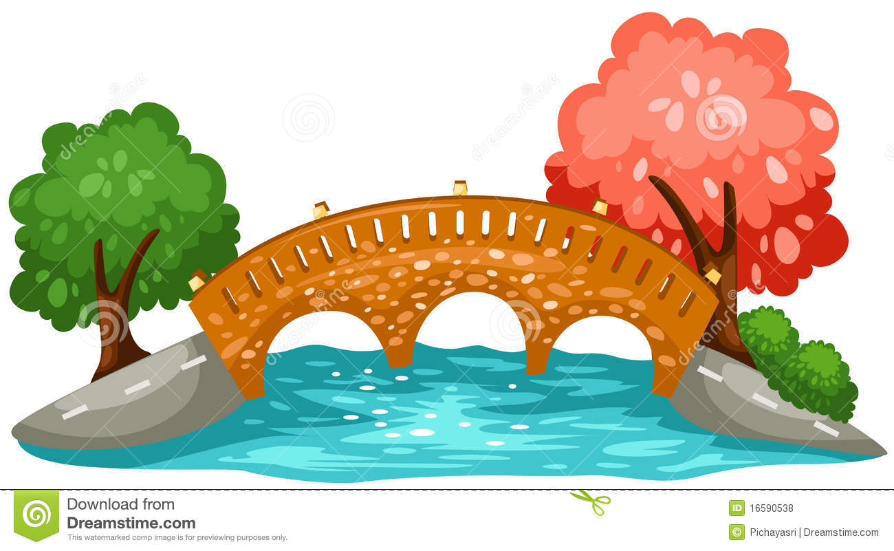 collection of free. Bridge clipart cute