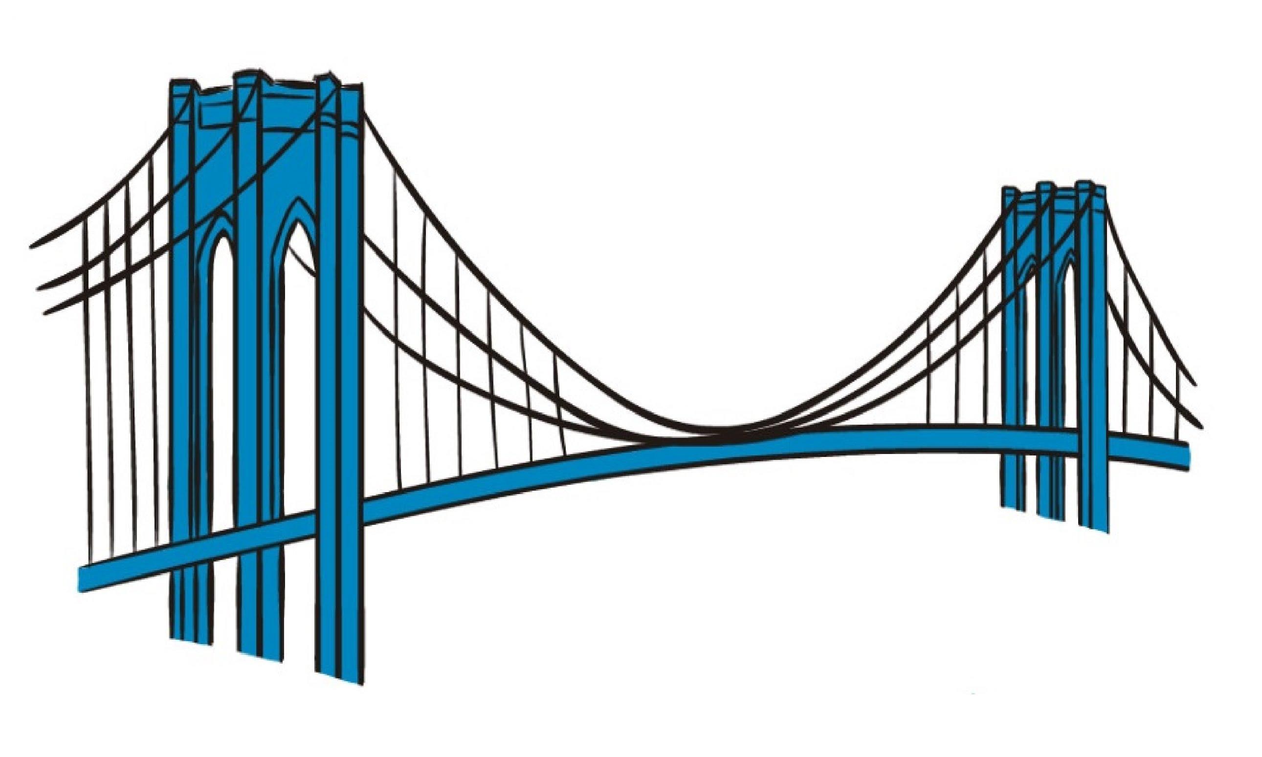 Bridge clipart easy. Drawing at getdrawings com