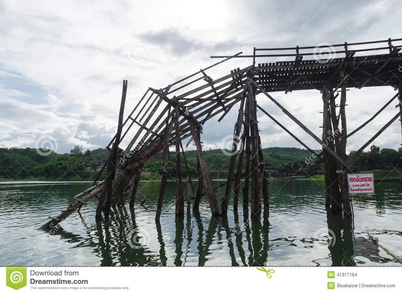 Broken wooden pencil and. Bridge clipart footbridge