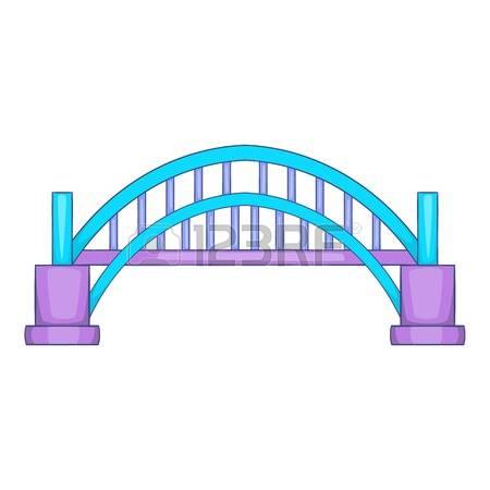 Arch pencil and in. Bridge clipart footbridge
