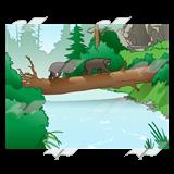 Free cliparts download clip. Bridge clipart forest