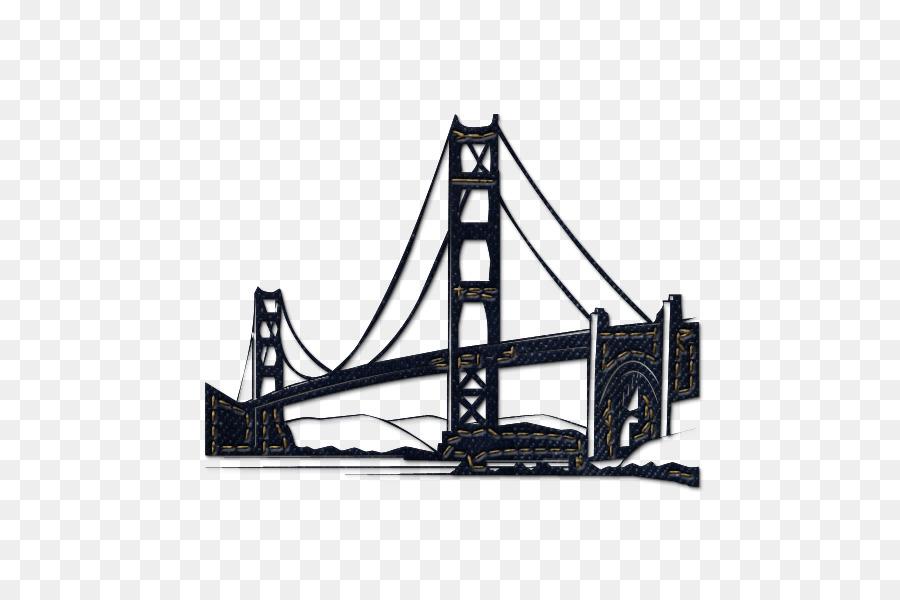 Bridge clipart icon. Golden gate san francisco