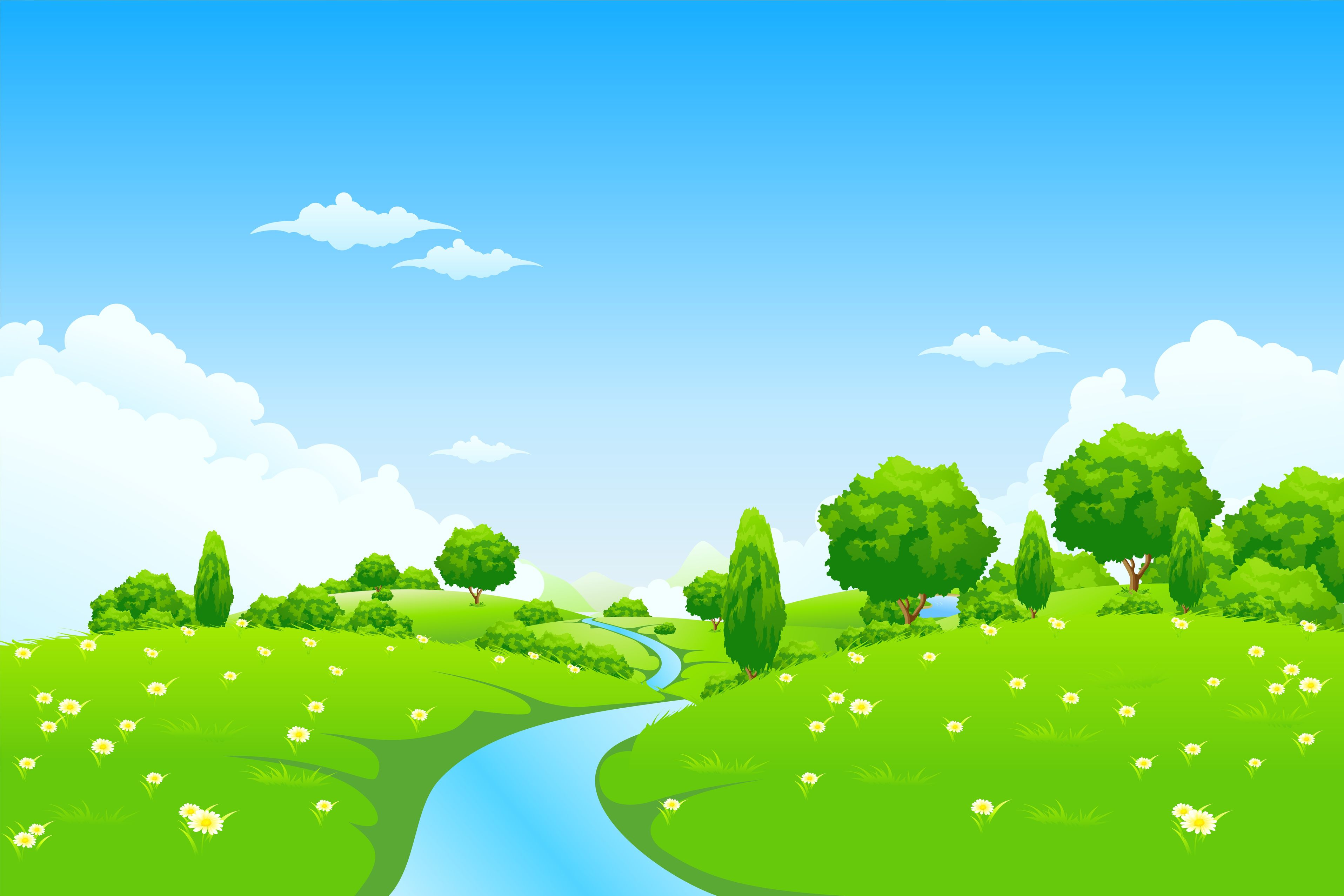 Hills clipart landscape. River png clipground valley