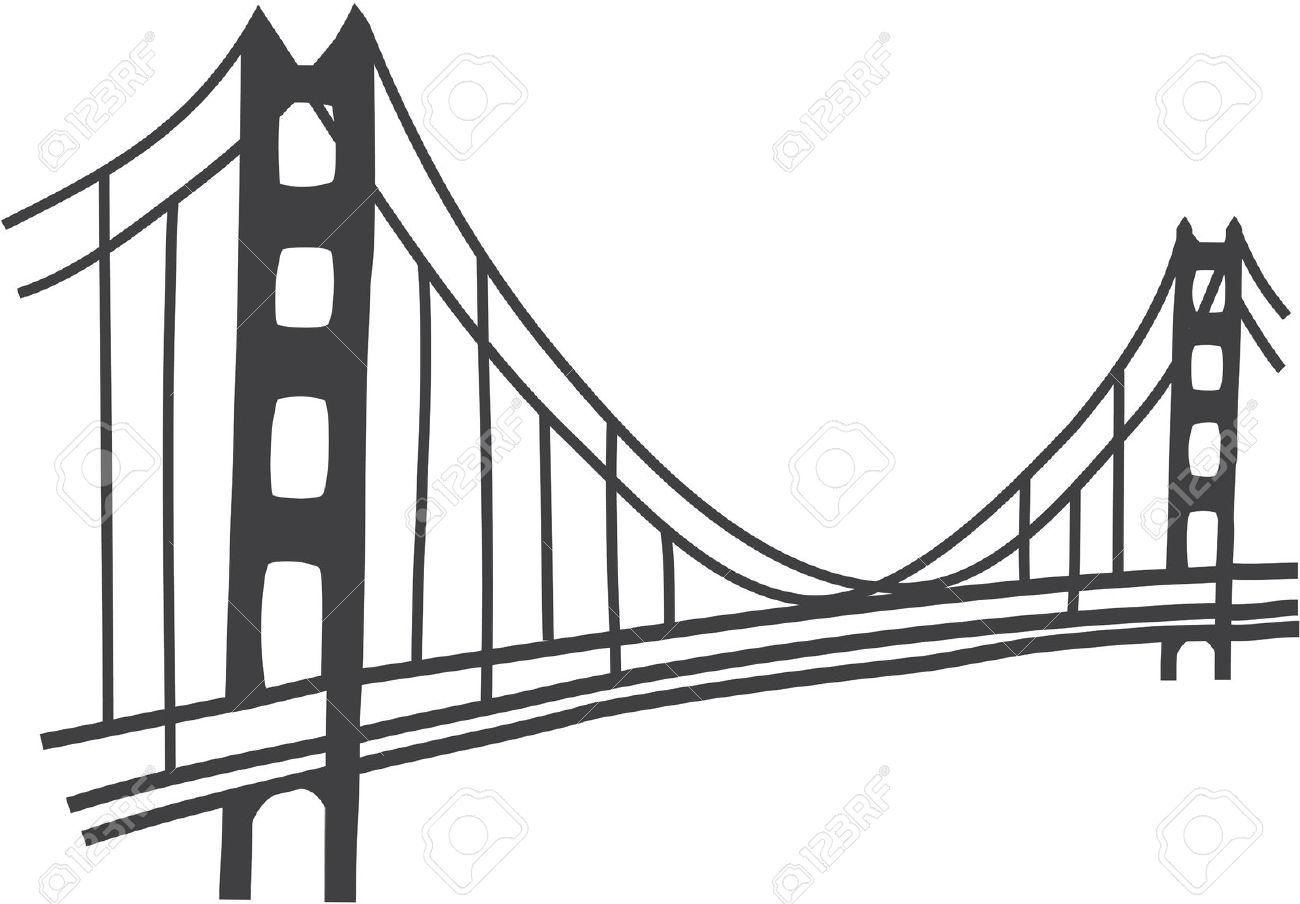 Bridge clipart outline. Cliparts free download clip