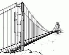 Bridge clipart side view. Brooklyn drawing google search