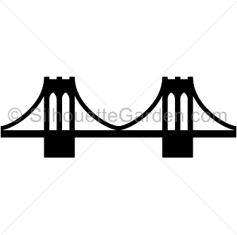 Bridge clipart silhouette. Pin by muse printables